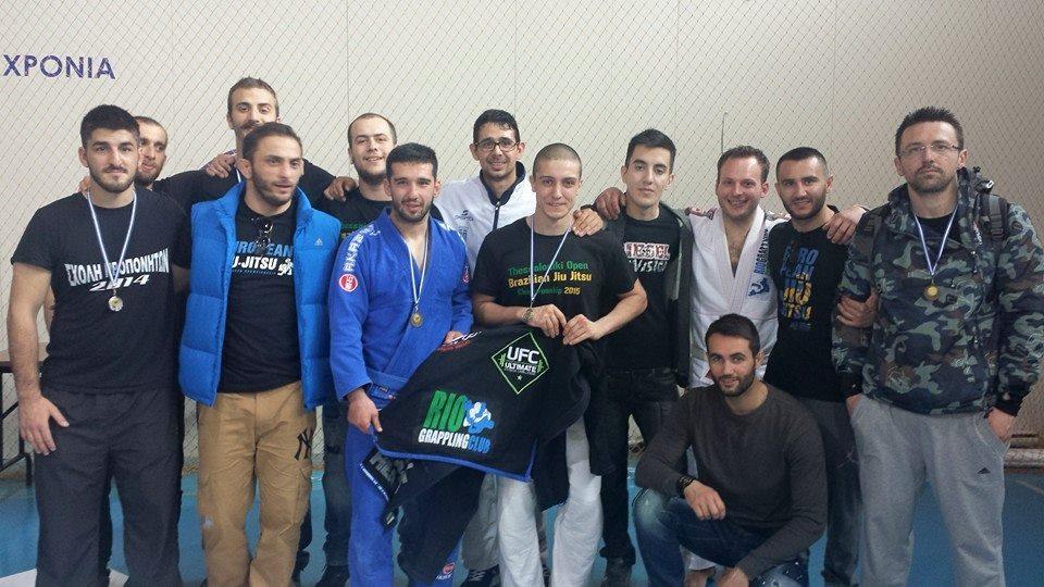 Με επιτυχία διεξήχθη το διεθνές κύπελλο Brazilian ju-jitsu στη Θεσσαλονίκη
